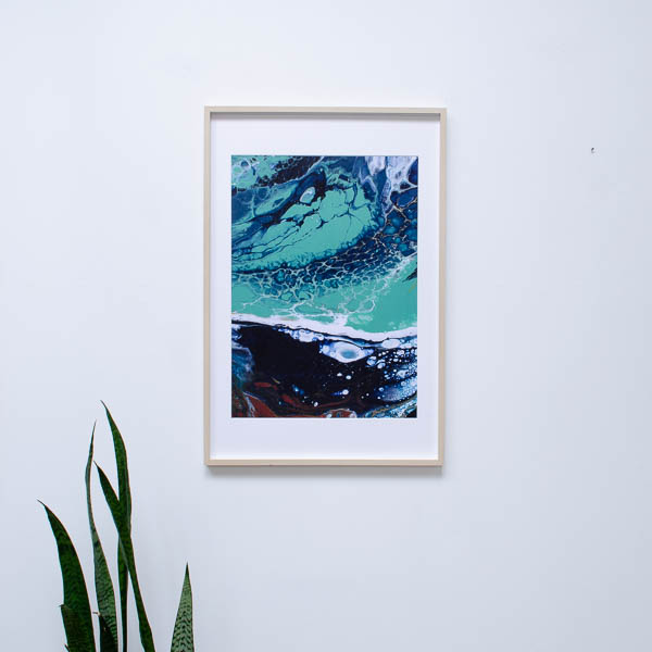 Kunstprint Atlas of the Ocean – Oceans