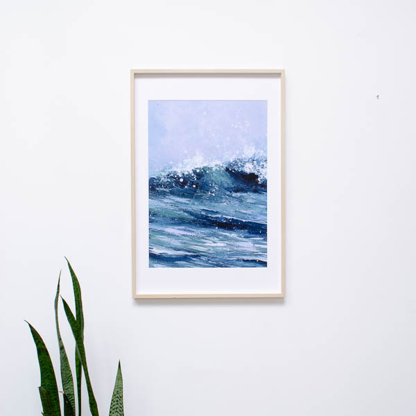 Kunstprint Atlas of the Ocean – Summer
