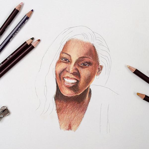 Workshop Portret tekenen Deel 2 – Expressie en Kleur – 18 september
