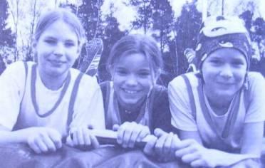 Janina Rimkus, Anna Pape und Jana-Mareike Volbers