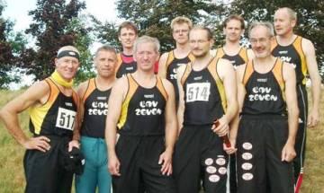 Die Zevener Teilnehmer bei den Nordd. Seniorenmeisterschaften in Büdelsdorf