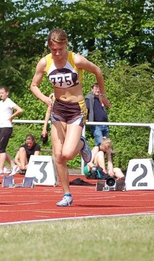 Start 100m beim Pfingstsportfest 2010 Foto © J.Zschiesche