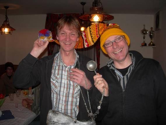 Die neuen Kohlkönige: v.l.n.r.: Volker Pieper und Stefan Drewes
