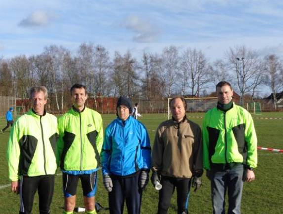 Zevener Teilnehmer von links: Thomas Silies, Marco Miltzlaff, Carsten Ahlfeld, Bernd Kümmel, Andreas Müller
