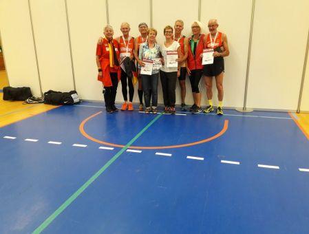 Das letzte Foto aus Aarhus mit unseren Frauen die uns kräftig unterstützt haben.