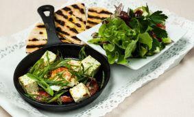 "Салатки в домашен стил, приготвени и поднесени в тиганче ""LAVA"""