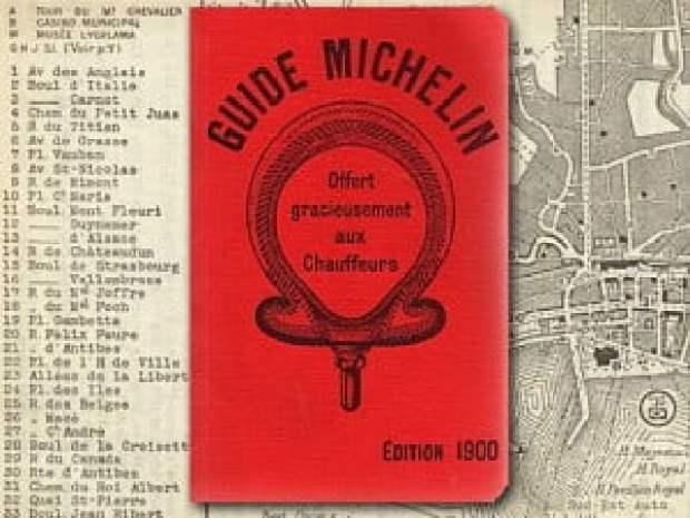 Мишлен гайд от 1900 година. Червена корица.