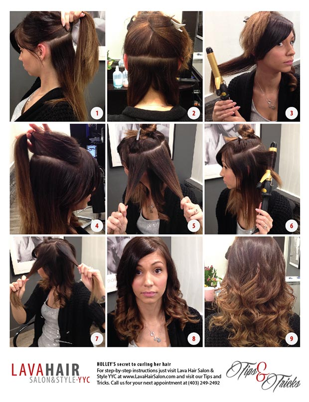 Holley Hair Curl Tips