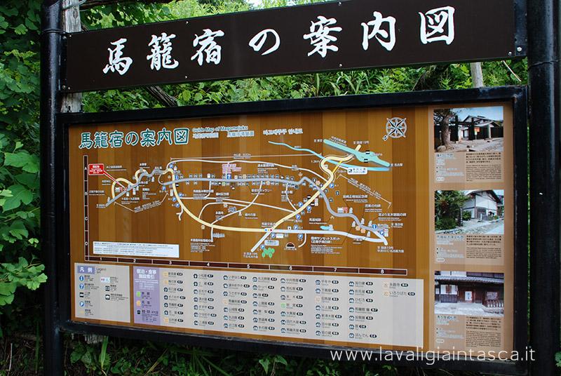 sentiero da Magome a Tsumago