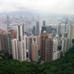 VICTORIA PEAK – Il panorama dall'osservatorio di Hong Kong