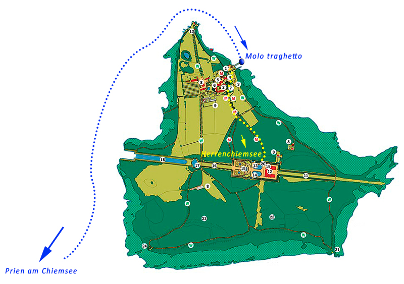 castello di Herrenchiemsee