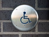 For disabled persons sign