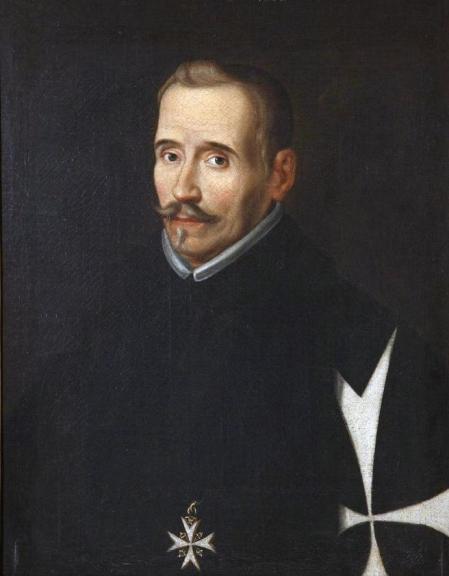 Retrato del poeta y dramaturgo Lope de Vega y Carpio que se puede ver en el Museo Lázaro Galdiano de Madrid.