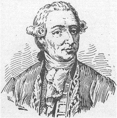 El médico Francisco Javier Balmis, grabado, c. 1800.