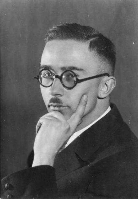 Retrato de Himmler en el año 1929.