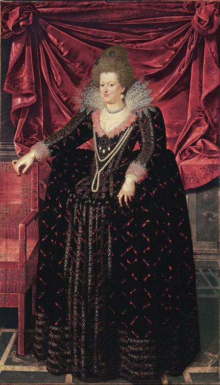 Retrato de María de Médicis, primera protectora de Richelieu.