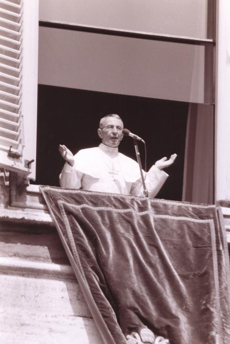 Juan Pablo I, en el año 1978.