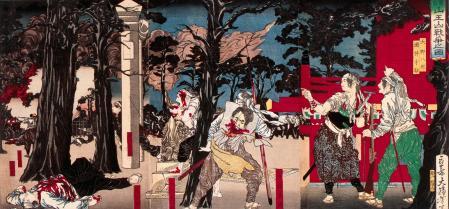 Batalla de Ueno en 1868: la guerra entre partidarios del emperador y del shogun fue encarnizada, pero pronto se decantó para los primeros
