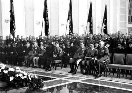 Funeral de Walther Wever.