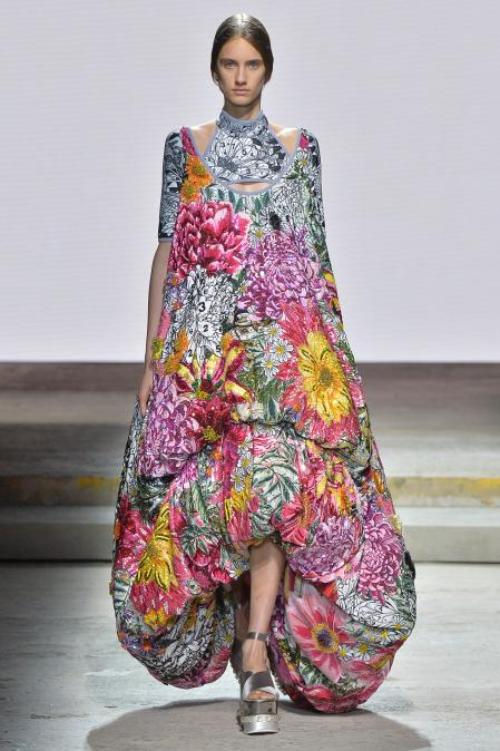 Its colorful style and large prints is unmistakable
