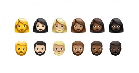 New bearded emoticons