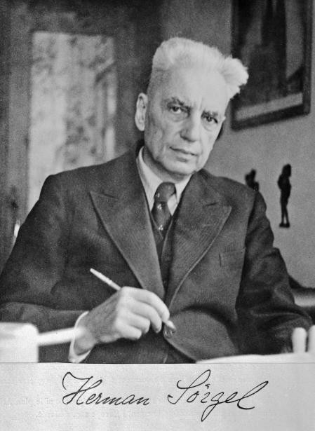 Herman Sörgel, autor del proyecto Atlantropa