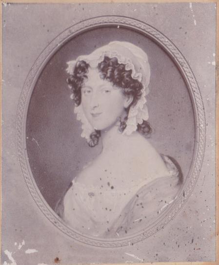 Horatia, la hija de Emma y Nelson.