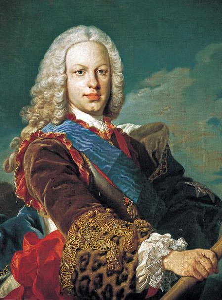 Retrato del rey Fernando VI de España (1713-1759).
