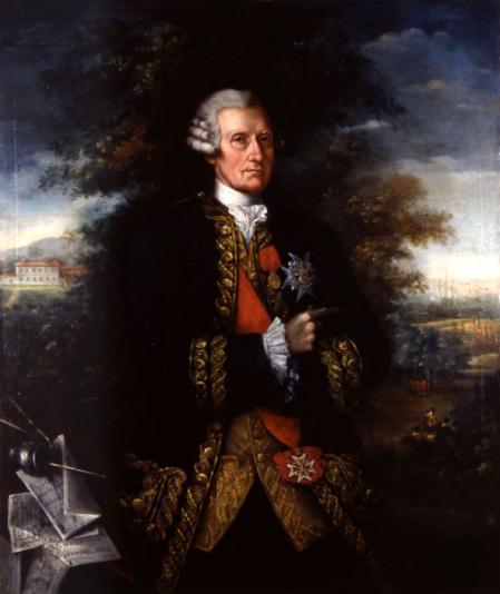 Retrato del político y militar de orígen irlandés Ricardo Wall (1694-1777).