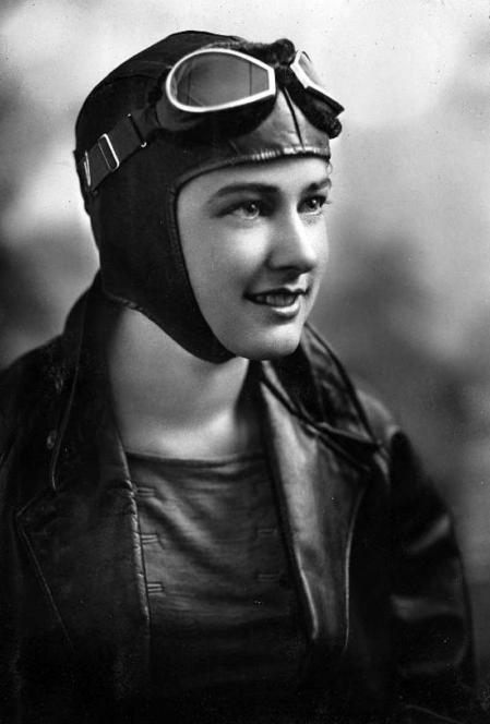 La piloto Helen Richey en una imagen de 1929