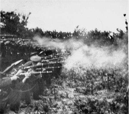 Ejecución de Antonescu, el 1 de junio de 1946.