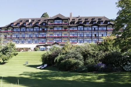 Imagen reciente del Hotel Royal, donde se celebró la conferencia.
