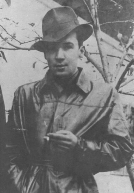 Jerzy Bielecki, en una imagen tomada tres meses después de escapar de Auschwitz