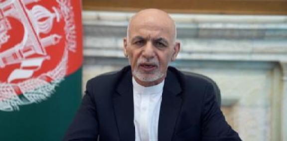 LV_Ashraf Ghani insinúa su marcha en un mensaje grabado con los talibanes a las puertas de Kabul