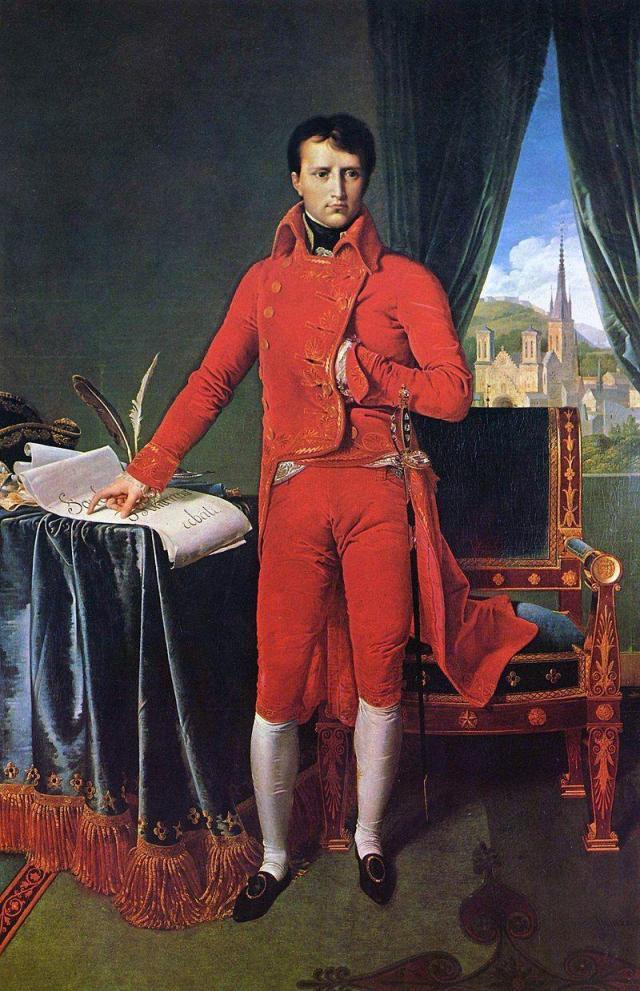 Napoleón Bonaparte como Primer Cónsul.