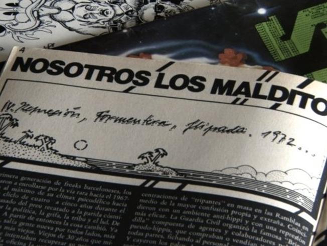 Una de las crónicas que publicaba Pau Malvido en 'Star' bajo el título Nosotros los malditos
