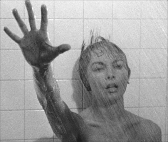 Fotograma de 'Psicosis', dirigida por Alfred Hitchcok y protagonizada por Janet Leigh y Anthony Perkins