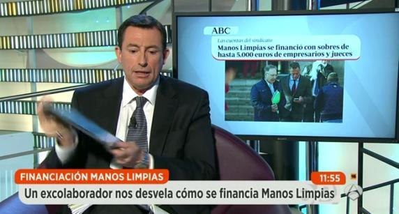 El empresario Fernando Martínez Dalmau, exmano derecha de Miguel Bernard, durante una entrevista en Antena 3