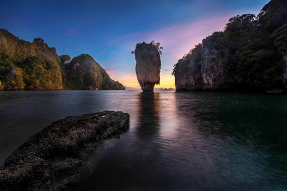 Phang Nga Bay, en Phuket (Tailandia)