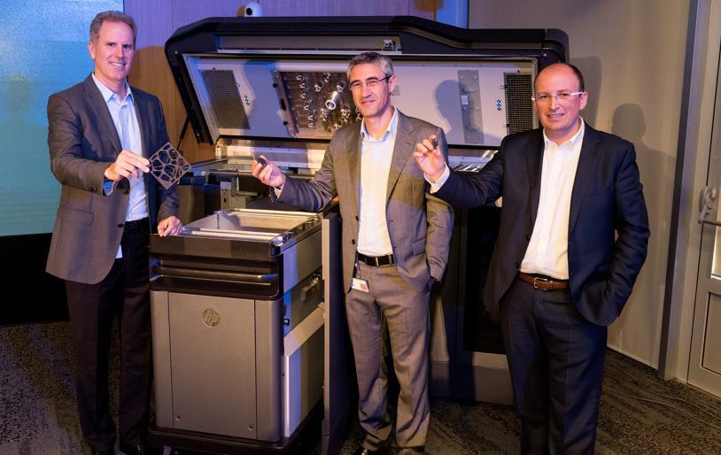 HP lanza su impresora 3D para abordar el mercado de la fabricación