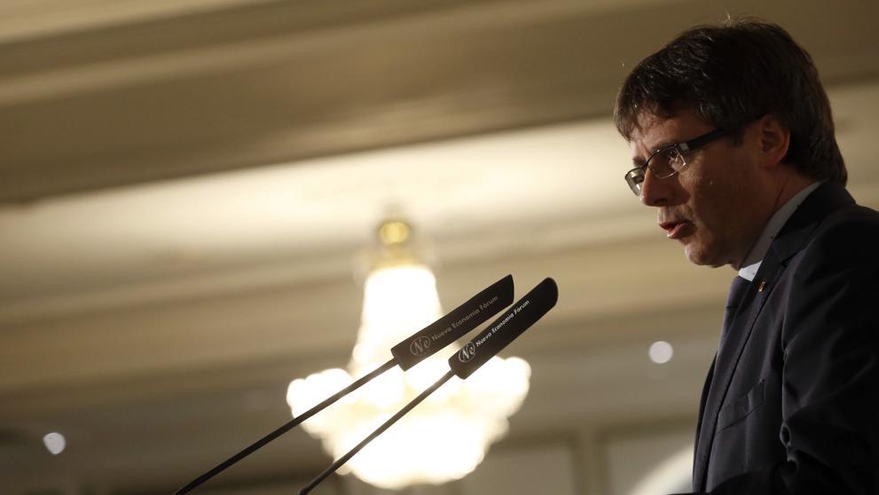 """Puigdemont advierte al Estado: """"La paciencia no es infinita, no esperaremos de brazos cruzados"""""""