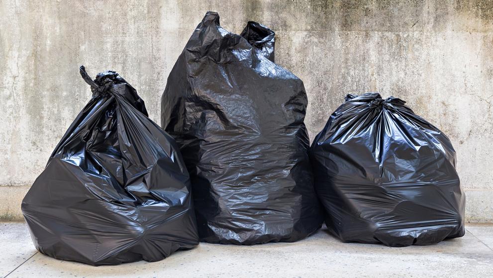Autopsia de la bolsa de basura