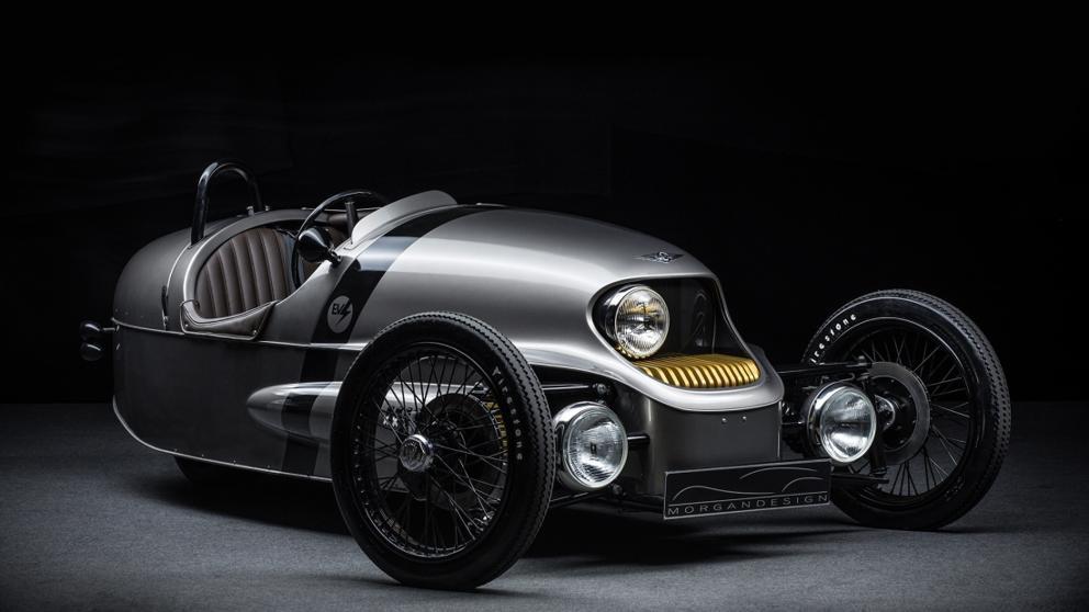 El Morgan EV3 viste la movilidad eléctrica con un diseño muy retro