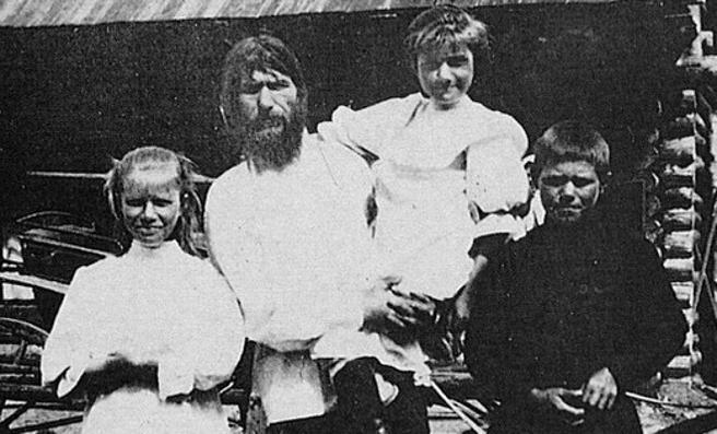 Rasputin y sus hijos
