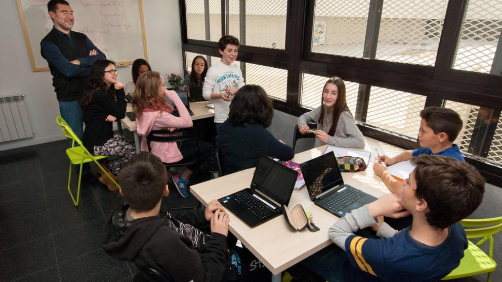 Les Vinyes. Alumnos de ESO de este centro han iniciado un nuevo proyecto global