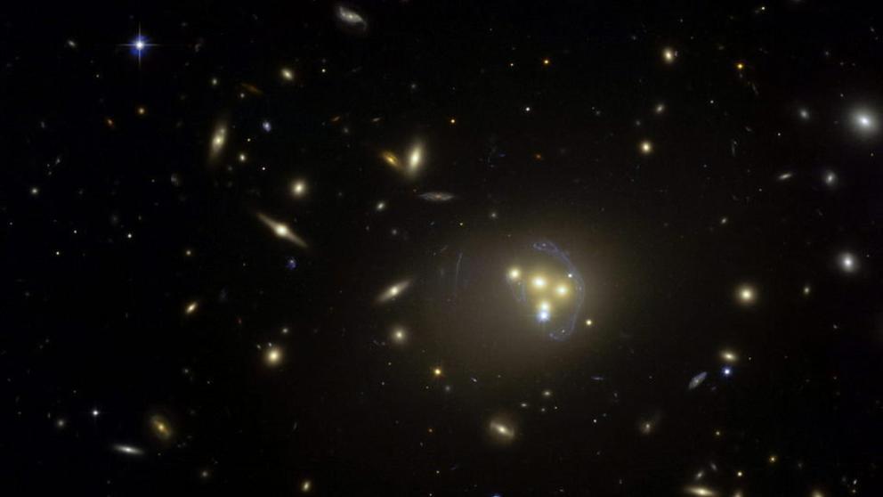 Resultado de imagen de imagen materia oscura universo