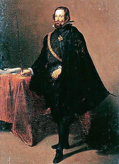 Retrato de Gaspar de Guzmán, conde duque de Olivares