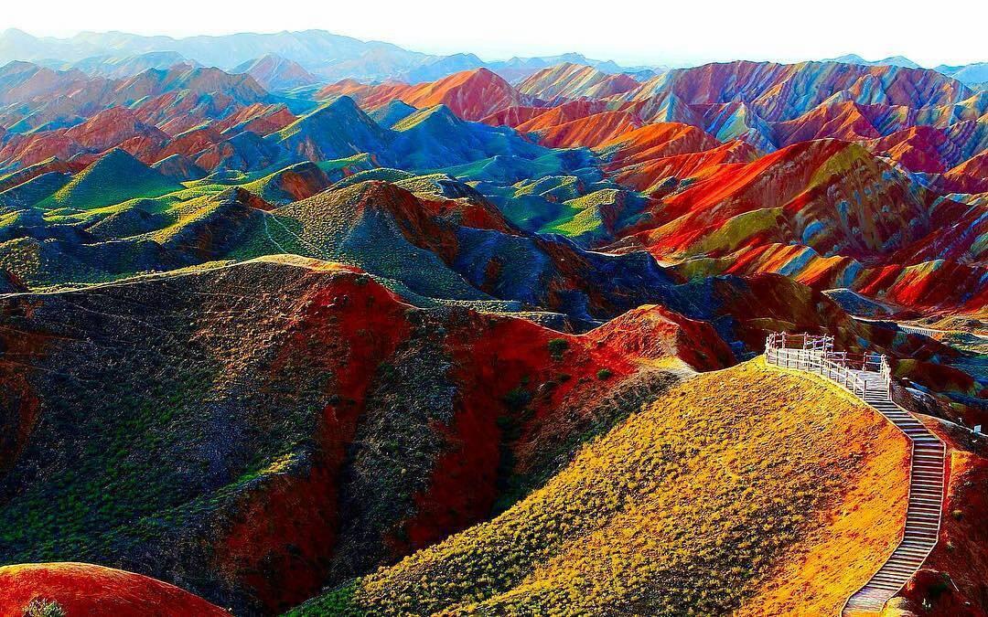 Resultado de imagen para Parque Geológico de Zhangye