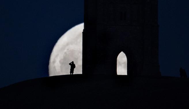 La Luna de Nieve también es conocida en otros países como Luna de Lobo