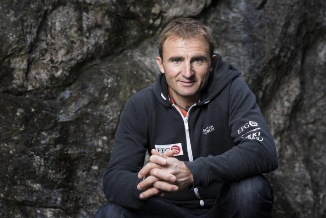 El alpinista suizo Ueli Steck